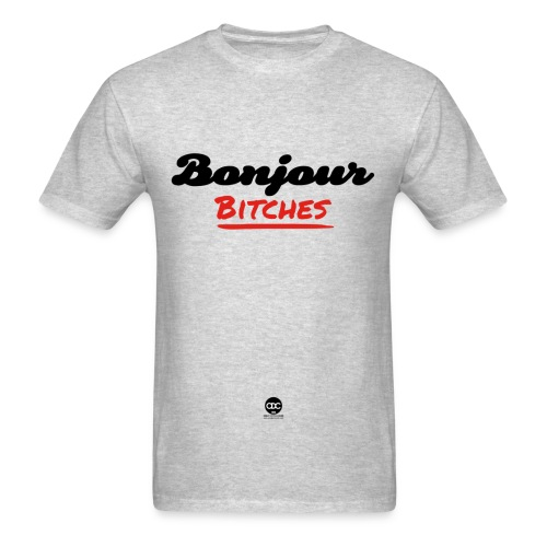 Bonjour bit*** - Men's T-Shirt