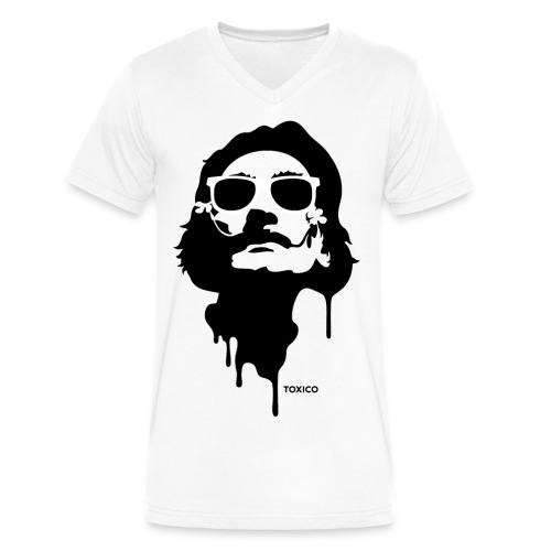 TOXICO DALI Limited Edition - Men's V-Neck T-Shirt by Canvas