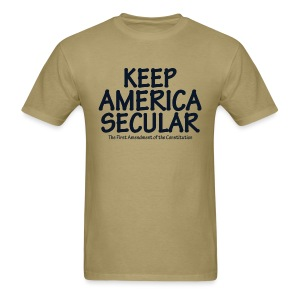 Keep America Secular - Men's T-Shirt