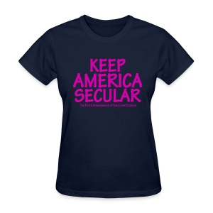 Keep America Secular - Women's T-Shirt