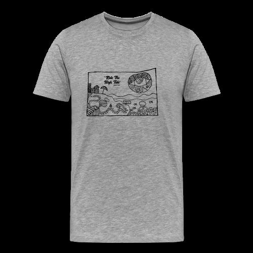 South Coast Dead Beat Rock premium men's short sleeve - Men's Premium T-Shirt