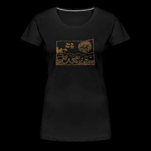 South Coast Dead Beat Rock ON BLACK premium women's short sleeve - Women's Premium T-Shirt