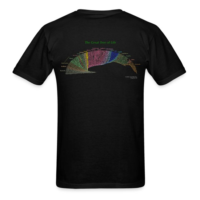 Wolves black tee shirt