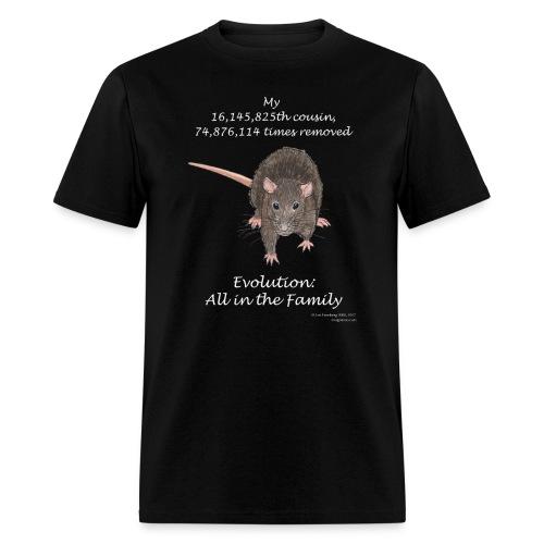 Rat black tee shirt - Men's T-Shirt