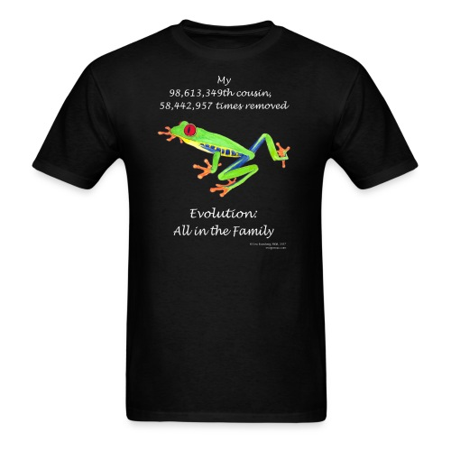 Frog black tee shirt - Men's T-Shirt