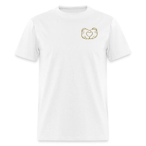 HEART Of GOLD - Men's T-Shirt