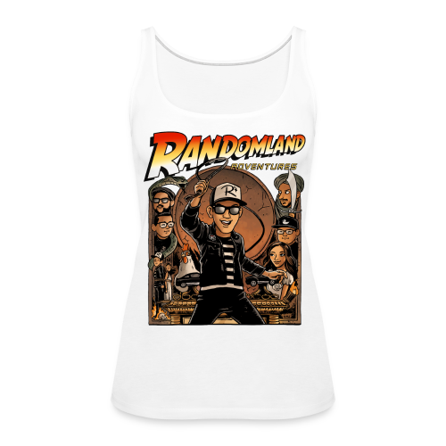 RANDOMLAND ADVENTURER (Womens Tank) PARODY SHIRT - Women's Premium Tank Top
