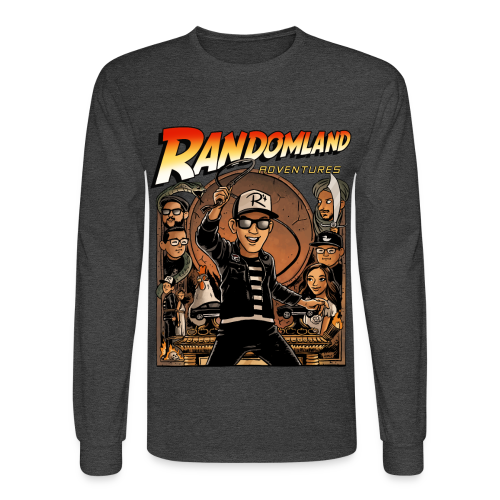 RANDOMLAND ADVENTURER - Long Sleeve! UNISEX - Men's Long Sleeve T-Shirt