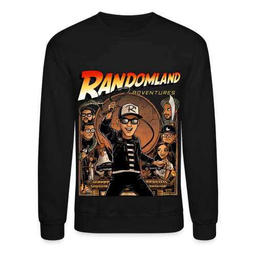 RANDOMLAND ADVENTURER - SWEATSHIRT PARODY! - Crewneck Sweatshirt