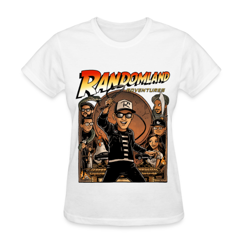 RANDOMLAND ADVENTURER (Womens) PARODY SHIRT - Women's T-Shirt