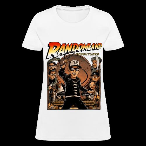 RANDOMLAND ADVENTURER (Womens) PARODY SHIRT - Women's T-Shirt