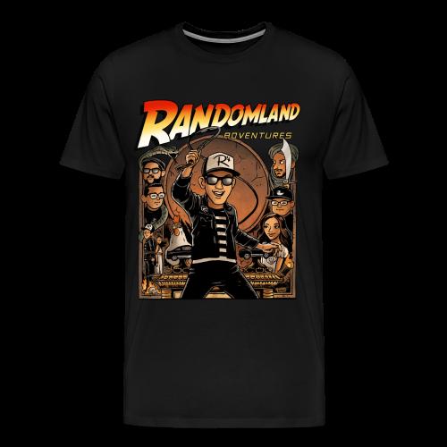 RANDOMLAND ADVENTURER (Premium) PARODY SHIRT - Men's Premium T-Shirt