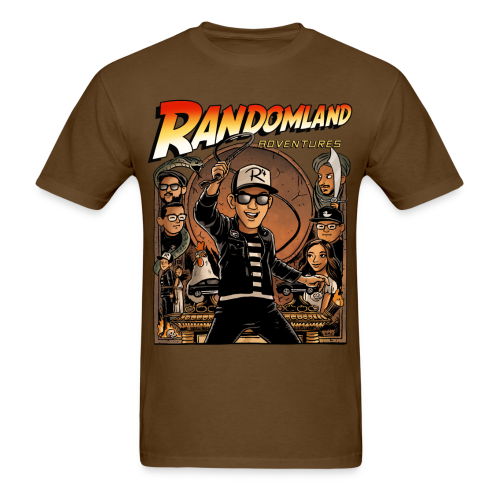 RANDOMLAND ADVENTURER (Men's/Unisex) PARODY SHIRT - Men's T-Shirt