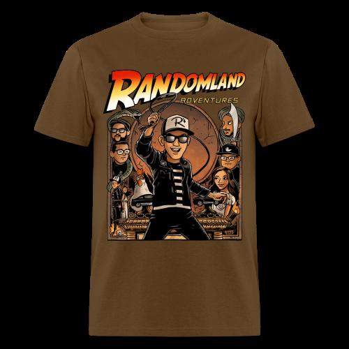 RANDOMLAND ADVENTURER (Men's/Unisex) PARODY SHIRT - Men's T-Shirt