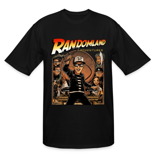 RANDOMLAND ADVENTURER (Tall Men's) PARODY SHIRT - Men's Tall T-Shirt