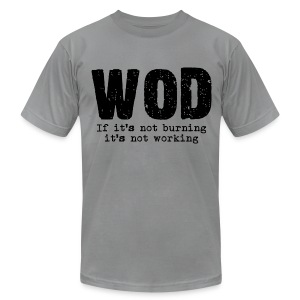WOD - Men's T-Shirt by American Apparel