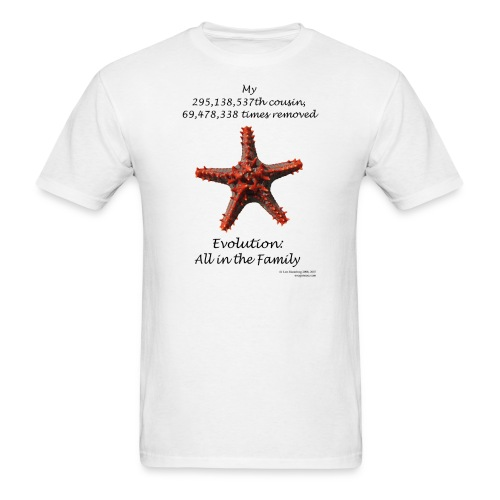 Starfish tee shirt - Men's T-Shirt