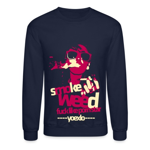 Crewneck Sweatshirt - This men's sweatshirt is ideal for those cold days! Made with pill-resistant air jetspun cotton yarn and 1x1 Lycra® spandex ribbed collar and cuffs. Fully double-needle stitched. Made from 50% preshrunk cotton, 50% polyester with a fabric weight of 7.75oz.