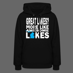 Great Lakes Awesome Lakes - Women's Hoodie