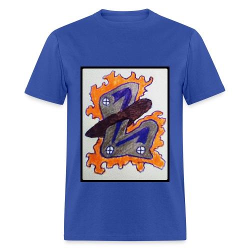 #LTRN Logo Tee [BLUE] - Men's T-Shirt