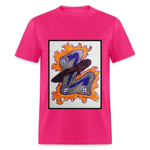 #LTRN Logo Tee [PINK] - Men's T-Shirt