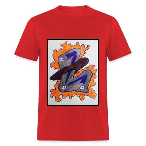 #LTRN Logo Tee [RED] - Men's T-Shirt