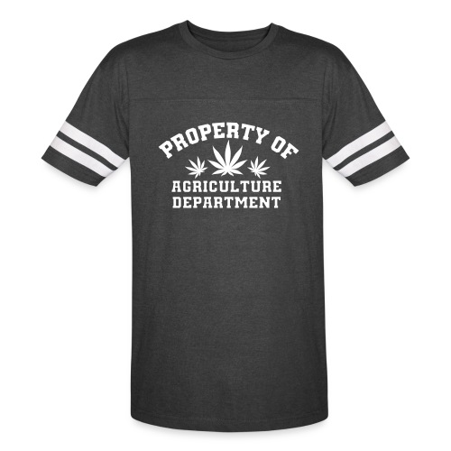 Property Of Agriculture Department T-Shirt - Vintage Sport T-Shirt