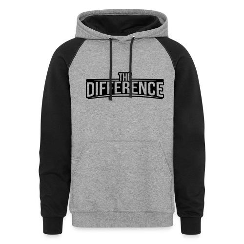 Difference Hoodie - Colorblock Hoodie