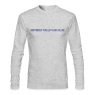 Long Sleeve Shirts ~ Men's Long Sleeve T-Shirt by American Apparel ~ Beverly Hills Car Club Collection