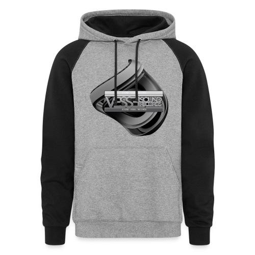 Men's Emblem Hoodie - Colorblock Hoodie