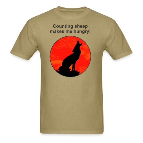 counting sheep - Men's T-Shirt