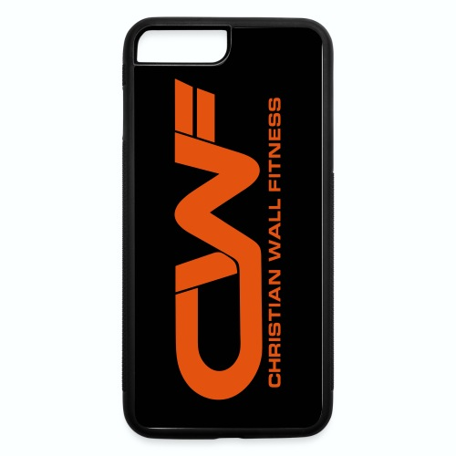 CWF iPhone 7s/8s Phone Case - iPhone 7 Plus/8 Plus Rubber Case