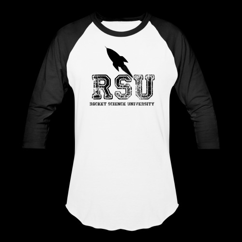 Rocket Science University Baseball T-Shirt - Baseball T-Shirt