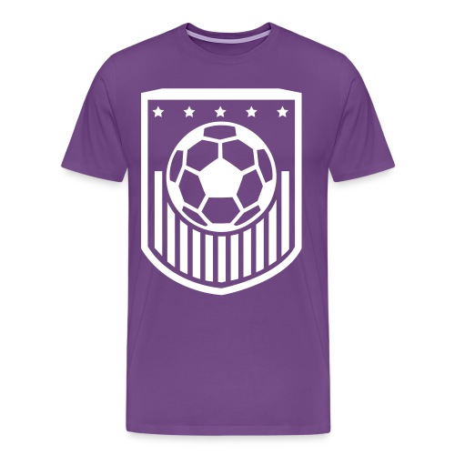 Men's Basic Soccer T-Shirt - Men's Premium T-Shirt