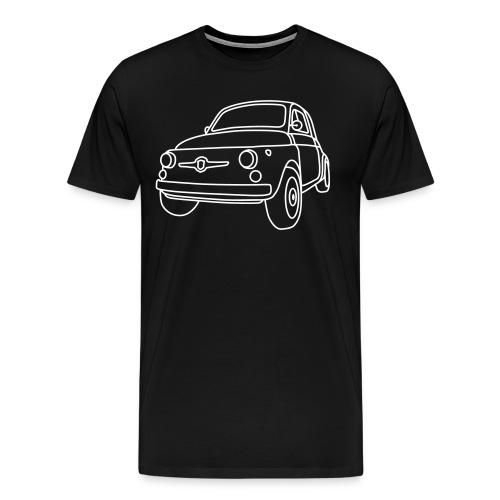 Fiat 500 Classic Men's T-Shirt - Men's Premium T-Shirt