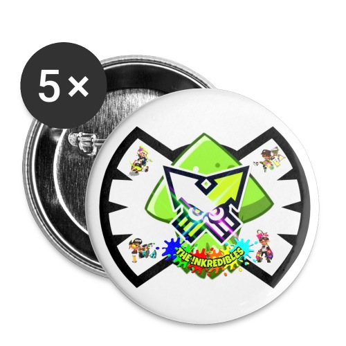 !NK Pins - Small Buttons