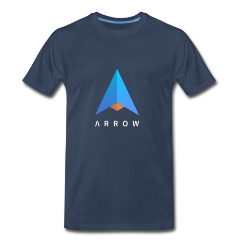 Arrow Logo Shirt (Unisex Premium) - Men's Premium T-Shirt
