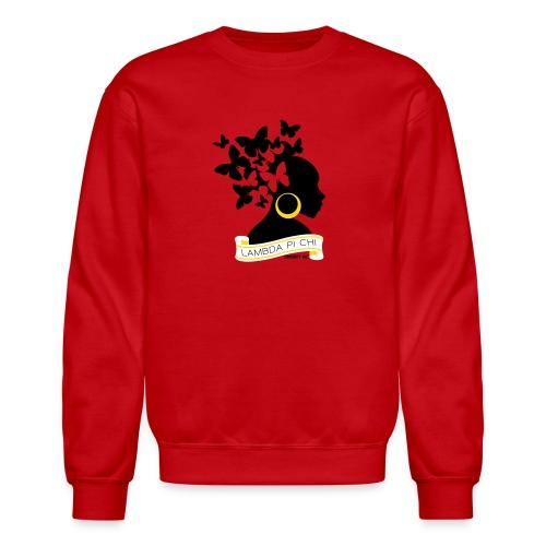 Butterfly Hair Woman Sweatshirt - Crewneck Sweatshirt