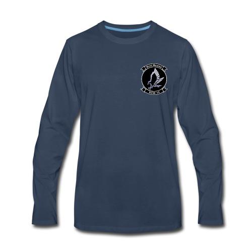 HSM-78 BLUE HAWKS LONG SLEEVE - Men's Premium Long Sleeve T-Shirt