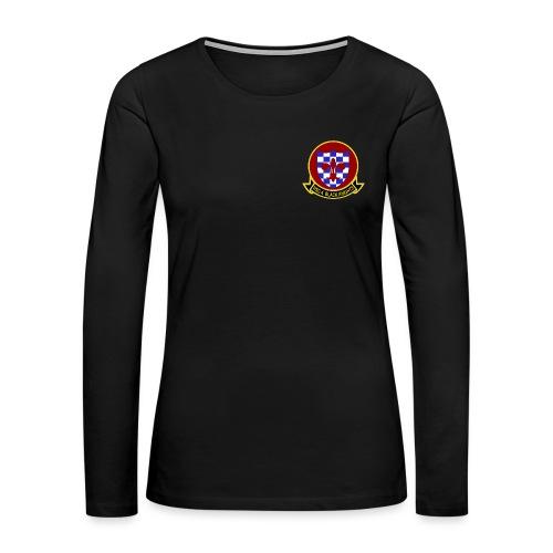 HSC-4 BLACK KNIGHTS WOMENS LONG SLEEVE - Women's Premium Long Sleeve T-Shirt
