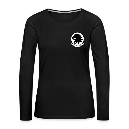 VAW-113 BLACK EAGLES WOMENS LONG SLEEVE - Women's Premium Long Sleeve T-Shirt