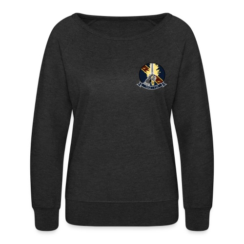 VAQ-136 GAUNTLETS WOMENS SWEATSHIRT - Women's Crewneck Sweatshirt