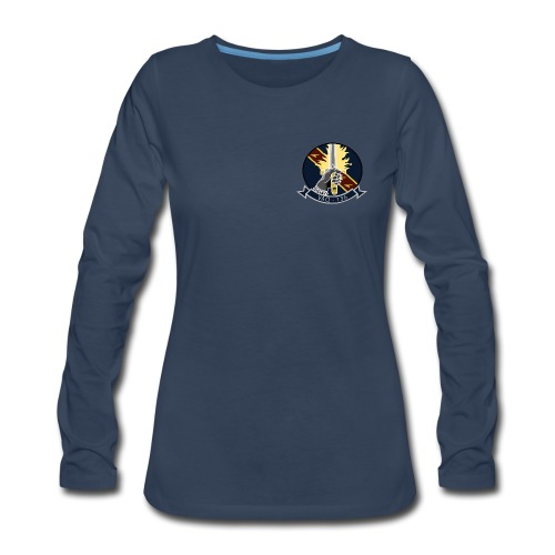 VAQ-136 GAUNTLETS WOMENS LONG SLEEVE - Women's Premium Long Sleeve T-Shirt
