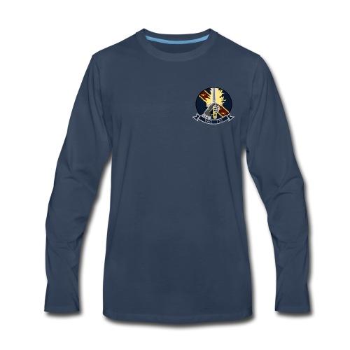 VAQ-136 GAUNTLETS LONG SLEEVE - Men's Premium Long Sleeve T-Shirt