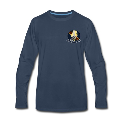 VAQ-136 GAUNTLETS LONG SLEEVE - Men's Premium Long Sleeve T-Shirt