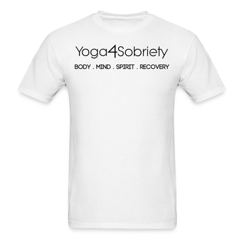MENS Body Mind Spirit Recovery - Men's T-Shirt