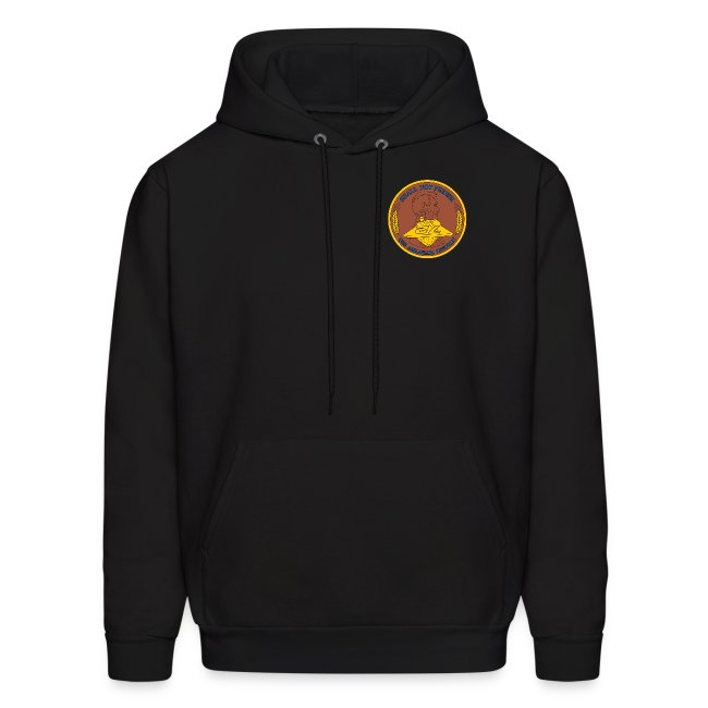 USS ABRAHAM LINCOLN CVN-72 AROUND THE HORN 1990 CRUISE HOODIE - FAMILY