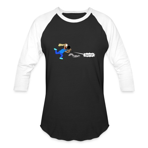 SQUIRREL! - Baseball T-Shirt