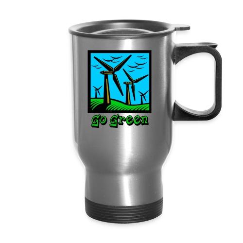 Go Green - Travel Mug