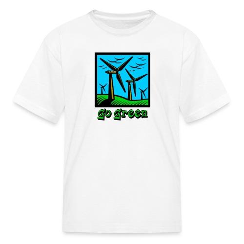 Go Green - Kids' T-Shirt
